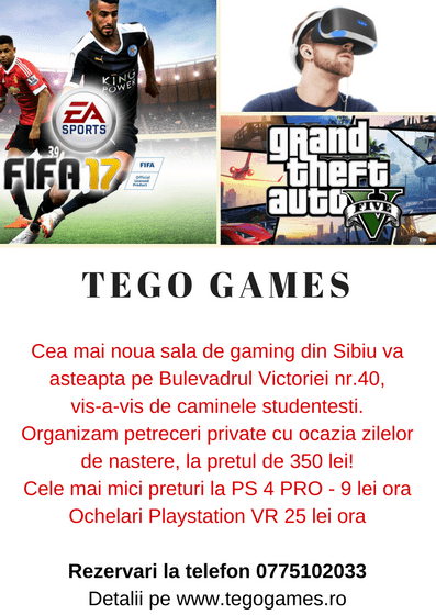 flyer sala gaming