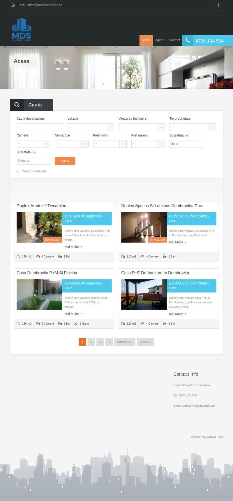 Website Agentie Imobiliara