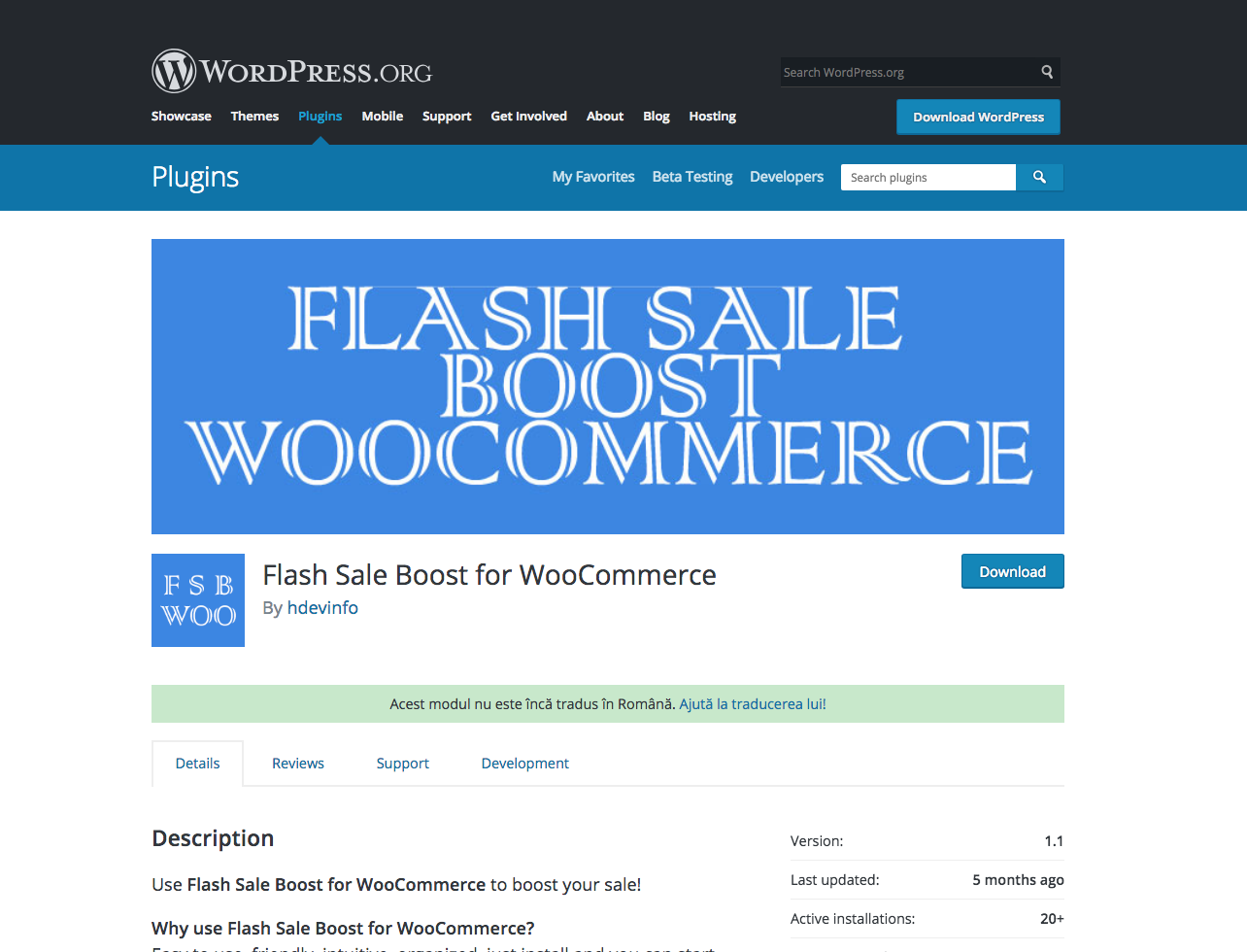 Flash Sale Boost Module For WordPress