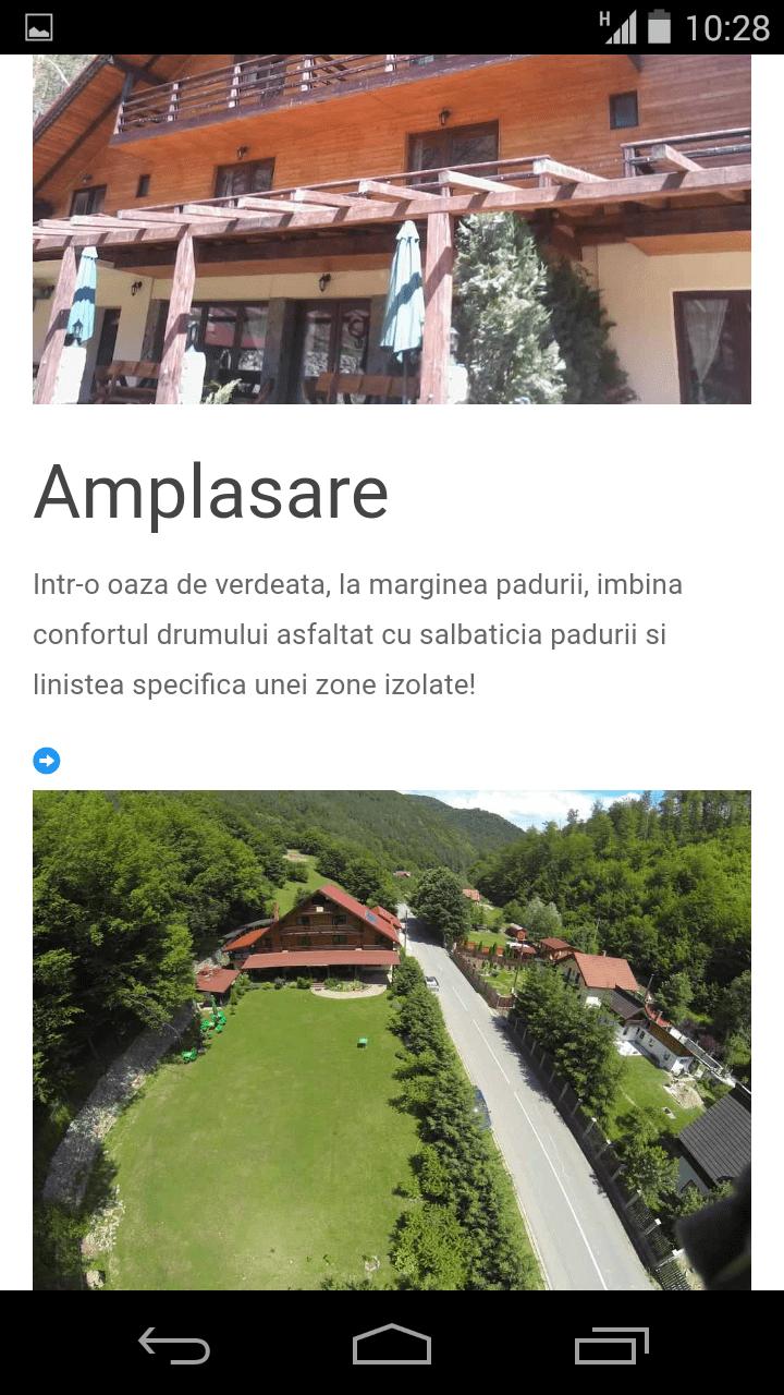 Site prezentare turism